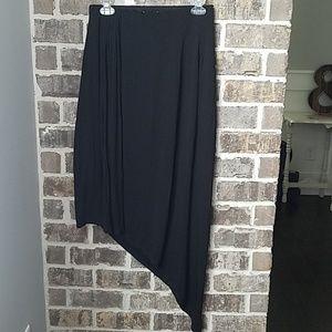 White House Black Market Asymmetrical Skirt